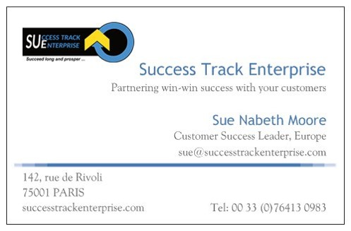 Carte De Visite Success Track Enteperprise